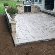decorative concrete patio concrete