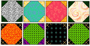 Free Quilt Block : Snowball - ideas for using this free quilt block & All quilters need to have a few blocks in their repertoire that are  all-purpose blocks. The Snowball Block is one of these. It makes a  wonderful quilt used ... Adamdwight.com