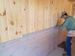 select knotty pine v groove heart