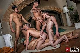Bareback Gang Bang Gay Scenes Lucas Entertainment