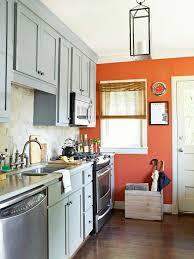 Best Kitchen Accent Cabinet Kitchen Ideas On A Budget Orange Accent Walls