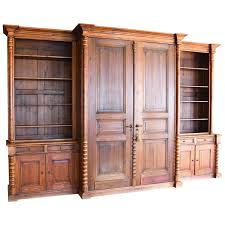 massive wall unit built from antique