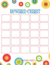 Free Sticker Charts 44 Printable Reward Charts For Kids Pdf Excel Word