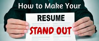 4 Rules for a Stand-Out Resume
