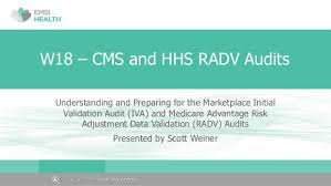 Cms Chart Audit Tool Cms And Hhs Radv Audits 2016 Compliance Institute W18