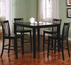 tall dining chairs counter: dining chair perfect high top dining table and chairs wooden material paint decoration