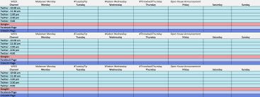Marketing Schedule Template Marketing Schedule Template Resume Template Sample 20