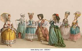 french revolution women stock photos french revolution women french women 1780 stock image