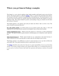 tips for crafting your best eulogy essay the second was in the surroundings of his first years among the boxwoods in mur sboro in the presence of a large number of his buried ancestors and a