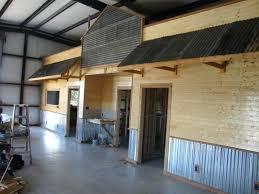 garage interior metal walls photo 5 of do it your self corrugated metal garage walls interior
