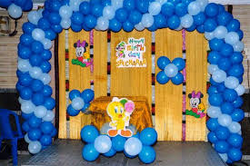 how to make balloon decoration for birthday party