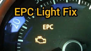 volkswagen polo epc warning light