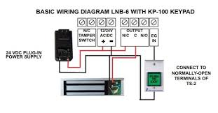 alarm controls lnb 6 600lb lock n a box kit indoor only by wire diagram wire diagram