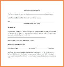 Month To Room Rental Agreement Lovely Sample Parking Forms 9 Free ...