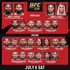 picks for #UFC239 tonight ...