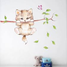 Looking for the ideal aesthetic wall art to express yourself? Room Decor 90s Aesthetic Room Decor Home Accessories Cartoon Cat Tree Environment Layout Wall Decoration Wall Sticker Wall Stickers Aliexpress