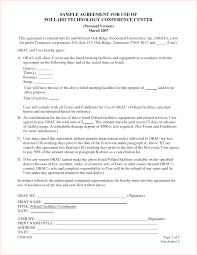 event agreement contract sample contract agreement format