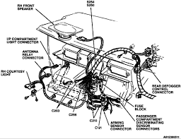 1994 buick century inline the engine ac for the cooling fans sedan graphic