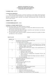 Syllabus Sample Template 11 12 Sample Course Syllabus Template Lascazuelasphilly Com