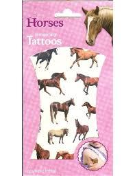 Dětské Tetování Koně Horses