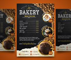 Coffee Shop Brochure Template Coffee Shop Flyer PSD Freebie 21