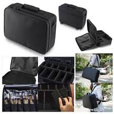 image is loading professional makeup bag cosmetic case storage handle organizer