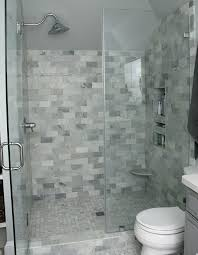 carrara marble subway tile shower bath a love inset and white double