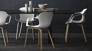 fritz hansen nap chair. the nap chair with white shell and wooden legs, designed by kasper salto. fritz hansen nap