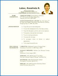 Resume Examples For Caregiver Skills Samples Free In - Sradd.me