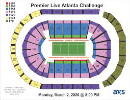 Premier Live Atlanta Challenge Infinite Energy Center