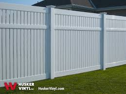 Semi Privacy Fence Husker Vinyl Inc