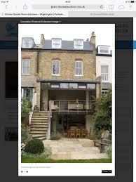 First Floor Terrace Design Sliding Doors Steps From First Floor Extension Dining