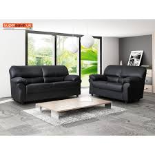 two piece suite faux pu leather