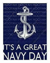 Hooyah Navy Day Navy Girlfriend Navy Veteran