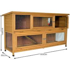 the coach house 6ft large rabbit hutch