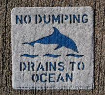 environment for kids water pollution no dumping water pollution sign