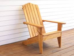 Exterior Wood Chairs