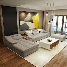 interior furniture design ideas. Living Room Furniture Modern L Shaped Fabric Corner Sectional Sofa Set Design Couches For Interior Ideas E