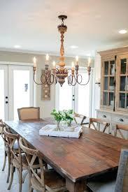 kitchen table chandelier height over rustic chandeliers design amazing rectangular dining designs marvelous li