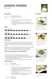 Sous Chef Resume Template Magnificent Sous Chef Resume Samples VisualCV Resume Samples Database