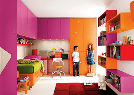 furniture design for kids. bedroom design modern children room with colorful furniture and decoration look elegant interior of a teenage various for kids
