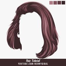 Hair Photoshop Artstation Vector Hair Photoshop Tutorial Benny Qibal