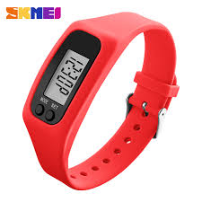 best running watches women promotion shop for promotional best skmei 1207 men women sport watch pedometer calorie time mileage running watches silicone strap wristwatches relogio masculino