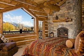 log homes cabin bedrooms