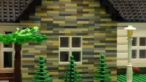 Lego House Plans Lego 1 Story House Custom Youtube