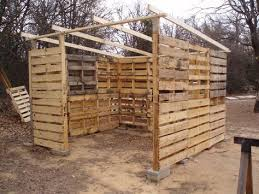 pallet shed. how to build a garden shed out of pallet wood - farm and grit magazine | sheds, sheds