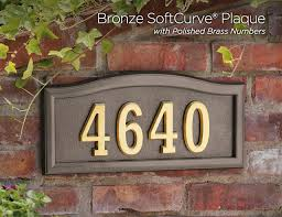 home address plaques. Gaines Manufacturing SoftCurve Metal House Signs Home Address Plaques S