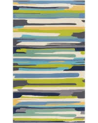 Striped area rug Addison Blair Surya Rain Striped Area Rug Emerald And Lime Rai127035 Parenting Check Out These Major Bargains Surya Rain Striped Area Rug Emerald