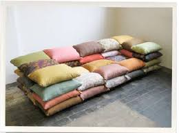 sofa couch made of pillows design squish blog