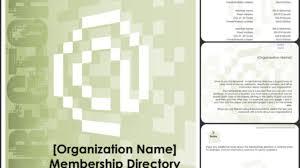 Pictorial Directory Template Word Membership Directory Template Excel Word Templates